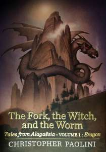 Cover of The Fork, the Witch, and the Worm by Christopher Paolini