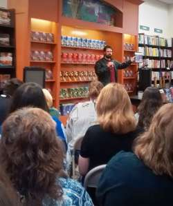 Christopher Paolini Presenting at B&N