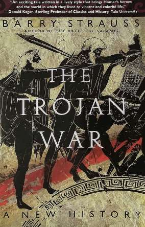 Cover of Barry Strauss' The Trojan War