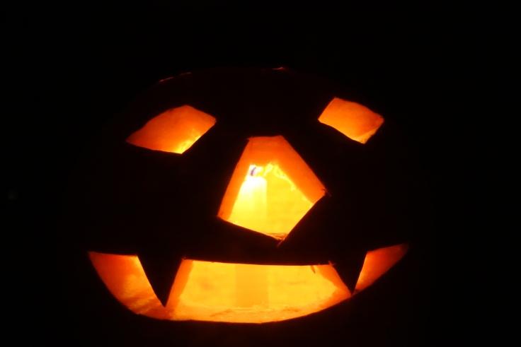 Candlelit Jack O Lantern