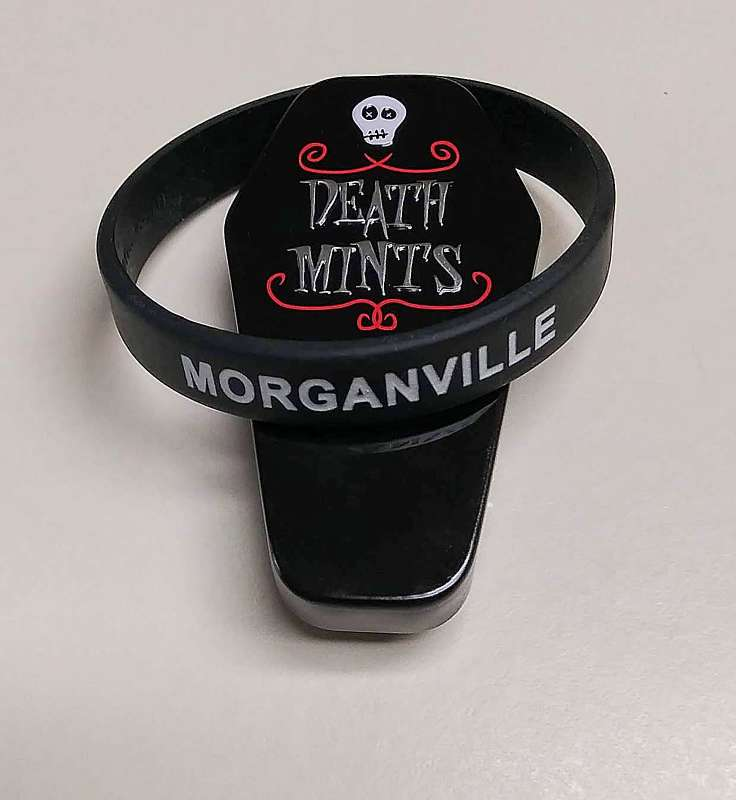 Morganville Wristband and Whimsical mint tin